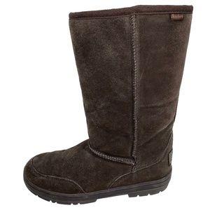 Skechers Outdoor Suede Mid Calf Winter Boots